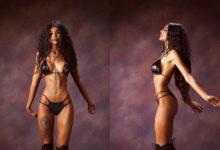 Photo of Сменившая цвет кожи девушка, показала аномальные формы