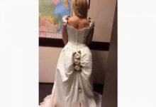 Photo of Свадебное платье невесты высмеяли из-занелепой детали наюбке