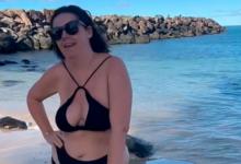 Photo of Полная блогерша вбикини повторила пляжную съемку актрисы ирассмешила фанатов