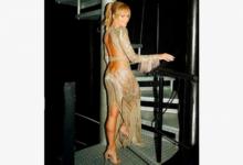 Photo of 49-летняя телеведущая снялась вполупрозрачном платье безбелья